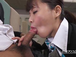 Cosplay Haruka Miura Fight Attendance Special Service - CARIBBEANCOM
