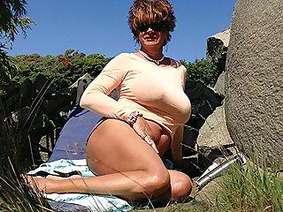 Beach Busty Candy