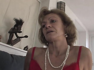 Granny Katherin is a fine anal GILF