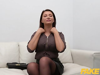 Korean Fake Agent Anna Polina fucked in a casting interview