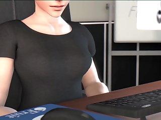 Hardcore Office Breaks - OVERWATCH FUTANARI MOVIE NETFUTA