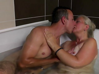 Swedish Taboo home sex at bath
