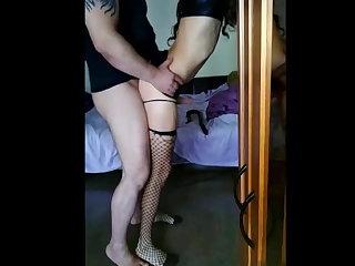 Deep Throats bull fucks a whore