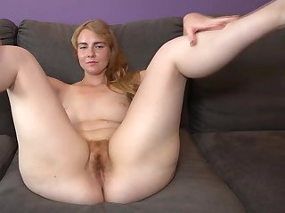 German MILF hairy beaver
