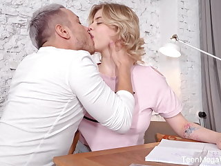 Coed TeenMegaWorld - FuckStudies - Grab my boobs so I cum