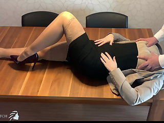 Danish personal assistant face fucked, deep throat - business-bitch