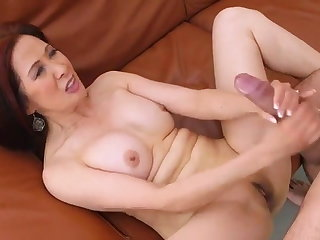 Maid Asian Granny Kim Anh Fucks & Jerks A Cumload Over Her Body.