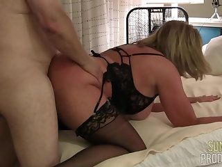 Cheating Slut Wife Fucks Bull, Part 3