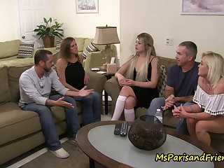 Party Family discussion or just an excuse for an orgy?