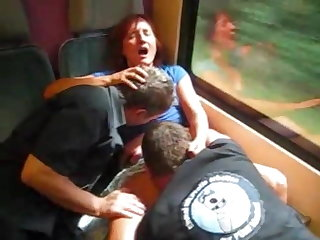 Orgy German train ride