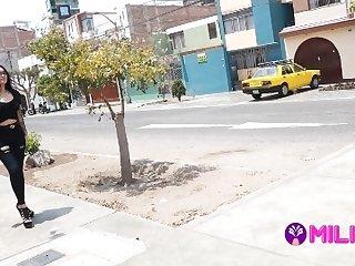 Peruvian Venezuelan Jasmine Caught Fucks A Virgin Fan
