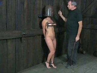 Hogtied Slave wife mature used, tied and fucked
