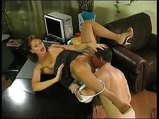 Cougars Lady boss seduces guy